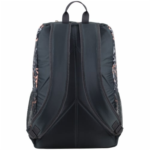 Fuel Wide Mouth Bungee Backpack - Cheetah Tie-Dye Perspective: back