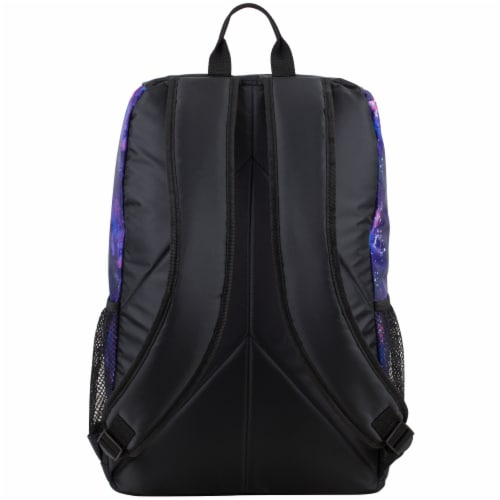 Fuel Wide Mouth Bungee Backpack - Galaxy Perspective: back