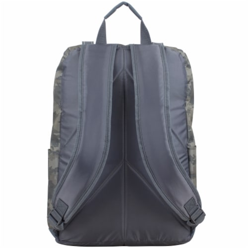 Fuel Wide Mouth Cargo Backpack - Static Camo Perspective: back