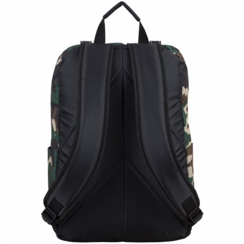 Fuel Wide Mouth Cargo Backpack - Army Camo Perspective: back