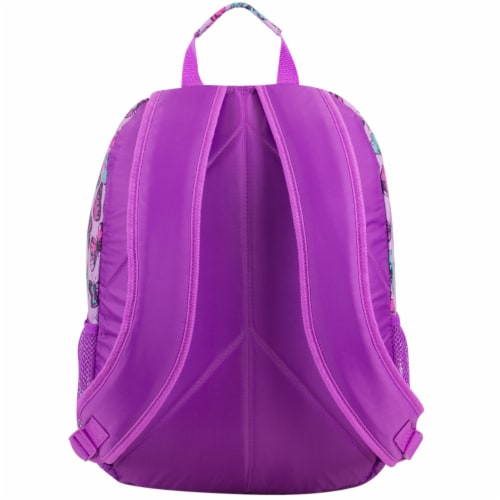 Eastport Active 2.0 Backpack - Colorful Butterflies Perspective: back