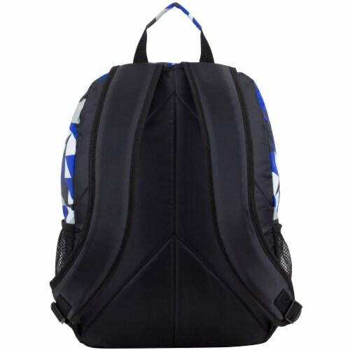 Eastsport Active 2.0 Backpack - Cobalt Splash/Clear Geo Perspective: back