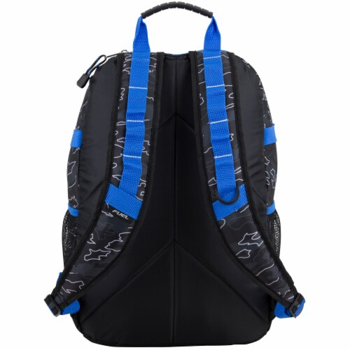 Fuel Camo Outline Terra Sport Bungee Backpack Perspective: back