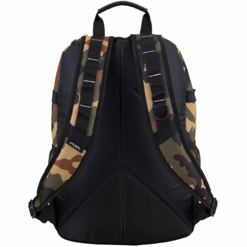 Fuel Army Camo Terra Sport Bungee Backpack Perspective: back