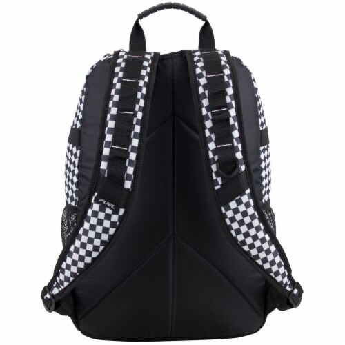 Fuel Checker Plaid Terra Sport Bungee Backpack Perspective: back