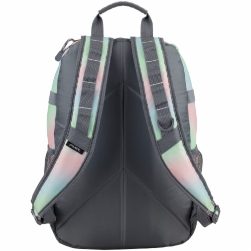 Fuel Pastel Ombre Terra Sport Bungee Backpack Perspective: back