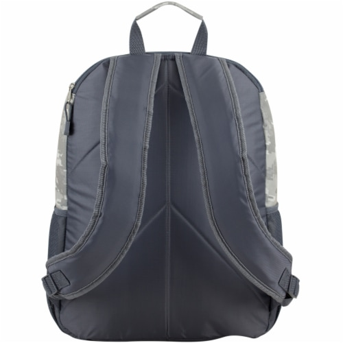Eastport Static Camo Future Tech Backpack Perspective: back