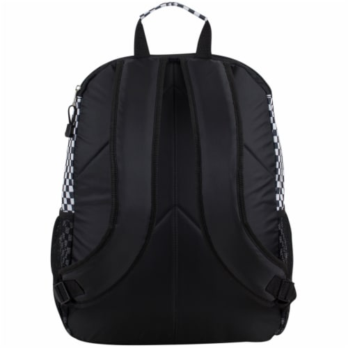 Eastsport Future Tech Backpack - Checker Plaid Perspective: back