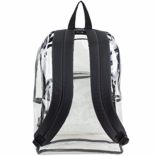 Eastsport PVC Dome Backpack - Black/Clear Perspective: back