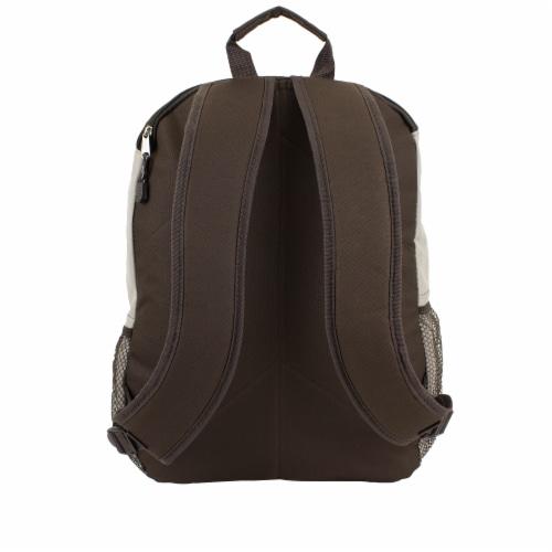 Eastsport Basic Tech Backpack - Moonrock Perspective: back