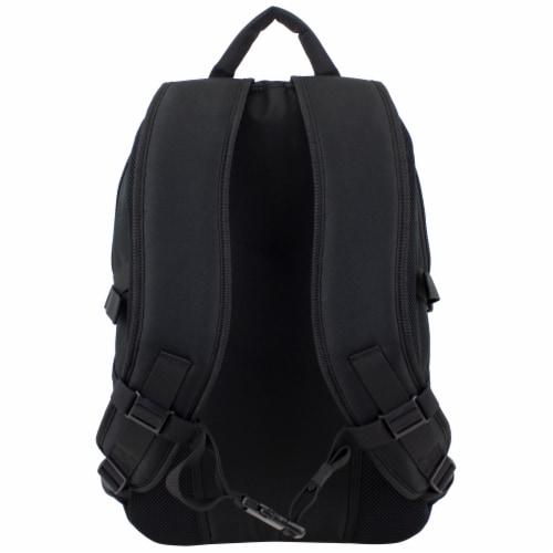 Fuel Force Defender Tech Backpack - Black Perspective: back