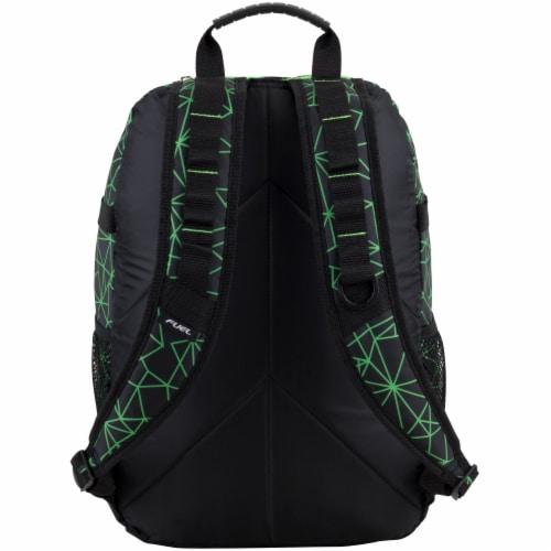Fuel Shattered Geo Terra Sport Bungee Backpack Perspective: back