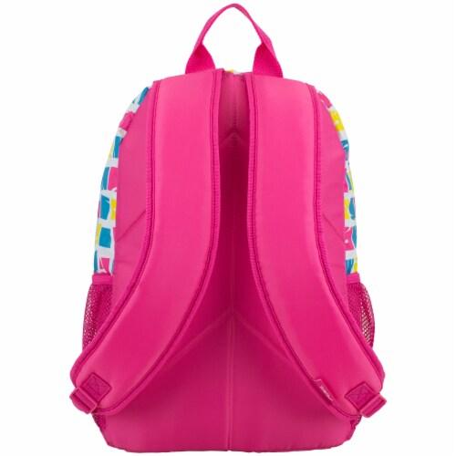 Fuel Warped Blocks Triple Decker Backpack Perspective: back