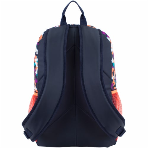Fuel Triple Decker Backpack - Butterfly Solid Perspective: back