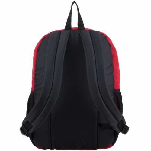 Fuel Deluxe Classic Large Backpack - Red Perspective: back