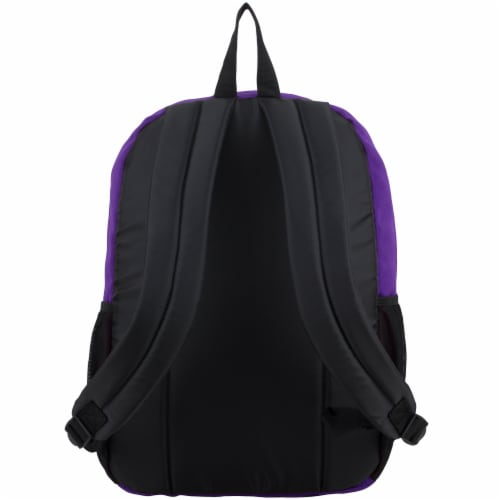 Fuel Deluxe Classic Large Backpack - Purple Perspective: back
