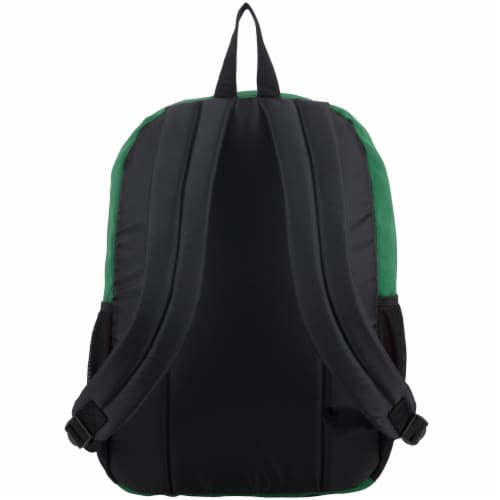 Fuel Deluxe Classic Large Backpack - Forest Green Perspective: back