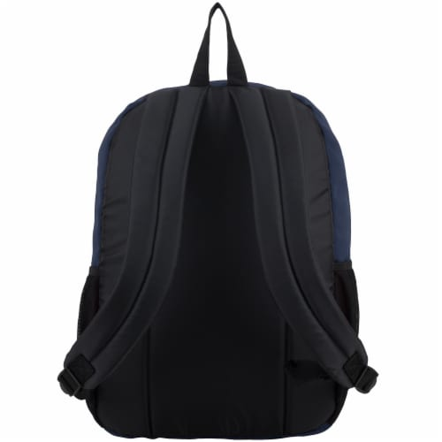 Fuel Deluxe Classic Large Backpack - Navy Perspective: back