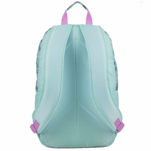 Fuel Deluxe Backpack/Lunch Bag Combo - Pink/Blue Perspective: back