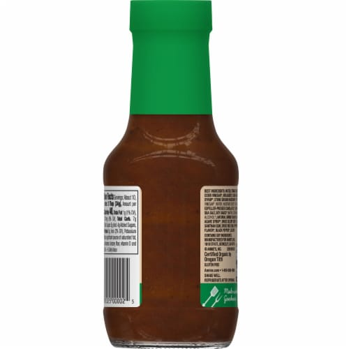 Annie's Organic Smoky Maple BBQ Sauce Perspective: back