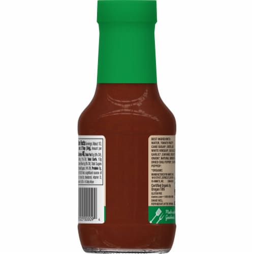 Annie's Organic Sweet & Spicy BBQ Sauce Perspective: back