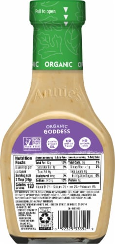 Annie's Organic Goddess Dressing Perspective: back