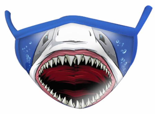 Wild Republic Smiles Assorted Adult Masks Perspective: back