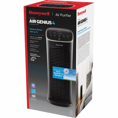 Honeywell Air Genius Compact Air Purifier Perspective: back