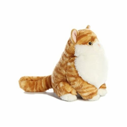 Aurora World Fat Cats Butterball Tabby Plush Perspective: back