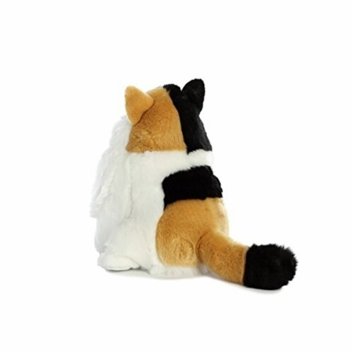 Aurora World Fat Cats Munchy Calico Plush Perspective: back