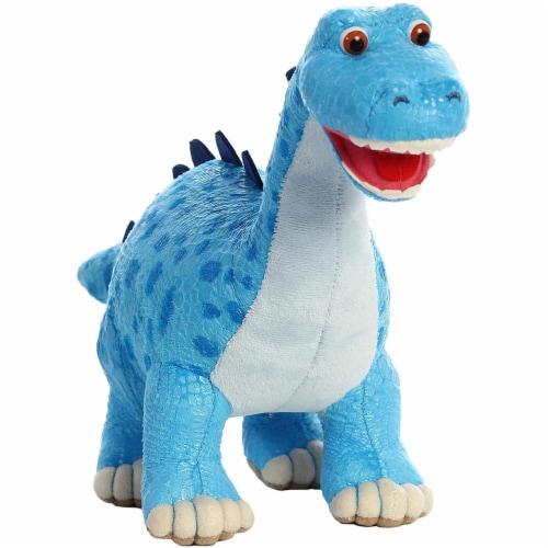 """Aurora World Dinosaur Roar - Munch Diplodocus 10"""" Plush Toy Perspective: back"""