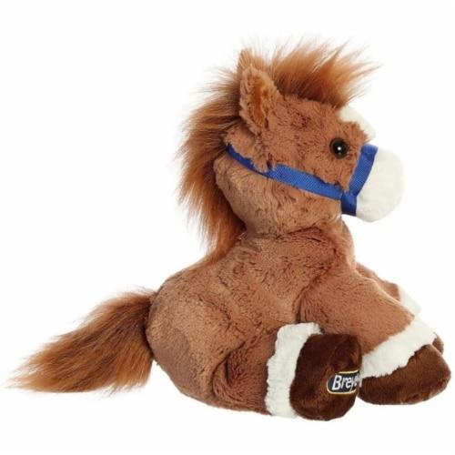 """Breyer Aurora 11"""" Chestnut Horse Plush Perspective: back"""