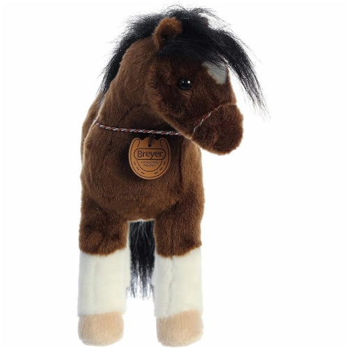 "Breyer Aurora 13"" Paint Horse Plush Perspective: back"