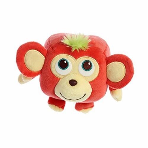 Aurora World Cuby Zoo Plush Marvin Monkey Plush Toy Perspective: back