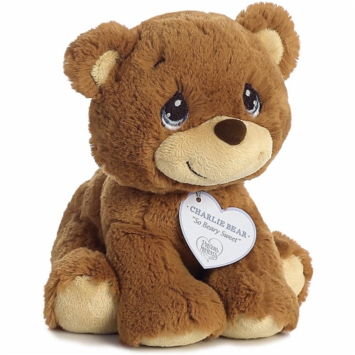 "Aurora World Precious Moments So Beary Sweet Charlie Bear Plush, 8.5"", Brown Perspective: back"