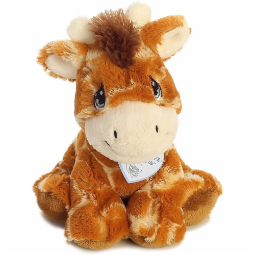 Raffie Giraffe 8 inch - Baby Stuffed Animal by Precious Moments (15709) Perspective: back