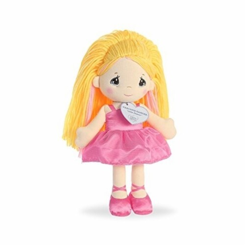 Aurora World Precious Moments Dancer Doll Little Dancer Plush Perspective: back