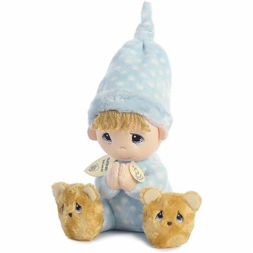 Aurora World Precious Moments Prayer Boy With Sound Now I Lay Me Down To Sleep Plush Perspective: back