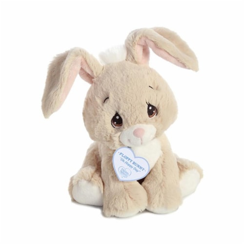 Floppy Tan Bunny 8.5 inch - Stuffed Animal by Precious Moments (15752) Perspective: back