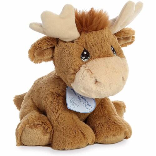 Aurora World Precious Moments Plush Toy, Monty Moose Perspective: back