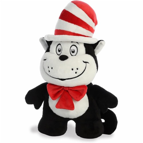 "Aurora World Dr. Seuss Cat in the Hat Dood Plushie, 11"" Perspective: back"