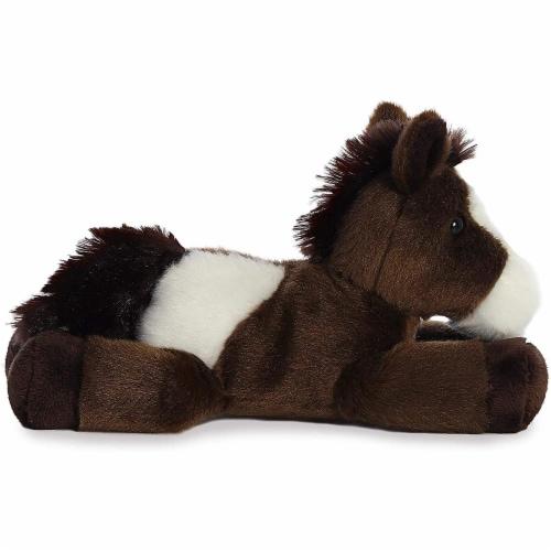 "Paint Horse Mini Flopsie 8"" Plush by Aurora - 31171 Perspective: back"