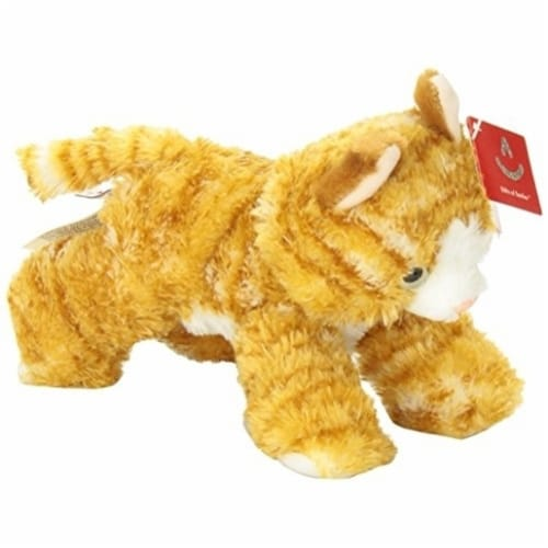 "Aurora World 8"" Mini Flopsie Plush Molly the Orange Tabby Cat Perspective: back"