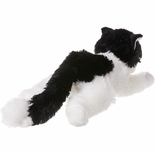 """Oreo The Cat Flopsie 12"""" Plush by Aurora - 31420 Perspective: back"""