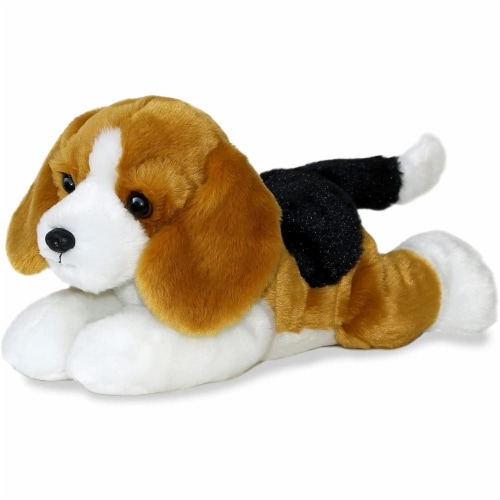 "Buddy the Beagle Flopsie 12"" Plush by Aurora - 31518 Perspective: back"