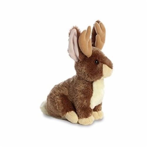 "Aurora World Flopsie Plush Toy Animal, Jackalope, 12"" Perspective: back"