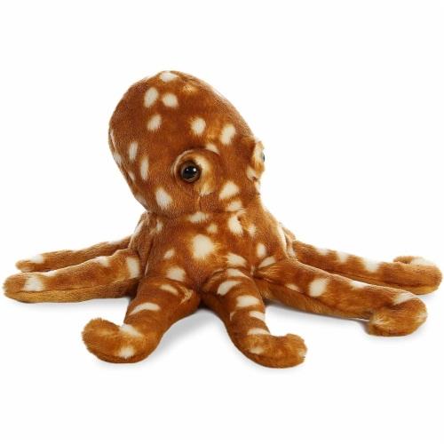 """Aurora World Flopsie Plush Octopus, 12"""" Perspective: back"""