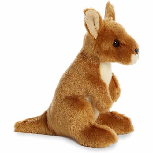 """Aurora World 8"""" Mini Flopsie Plush Toy, Kangaroo Perspective: back"""