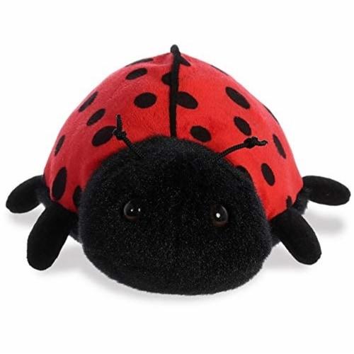 """Aurora World Inc. 8"""" Ladybug-Ladybird Stuffed Animal Perspective: back"""
