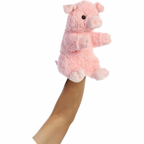Aurora World Pinky The Pig Hand Puppet Plush, Pink Perspective: back